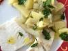 Kartoffel-Fenchel-Gemüse mit Fisch