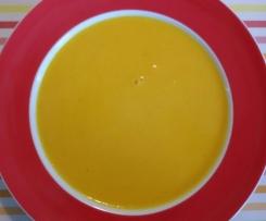 Kürbis-Kartoffelsuppe mit Senf