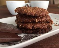 Schoko - Müsli Kekse