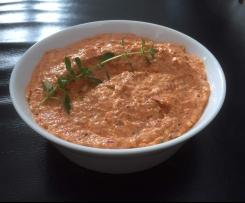 Bruscetta-Tomaten Oregano Aufstrich