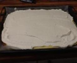 ZItronen- Butterkeks- Kuchen / Hit für Kids