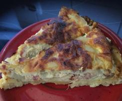 Zwiebel-Speck Quiche