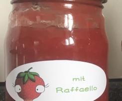Erdbeermarmelade mit Raffaello