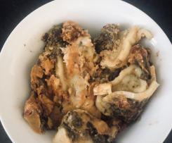 Maultaschen-Spinat-Auflauf