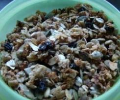 Knuspermüsli - Granola