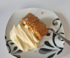 Rüeblicake / Karottenkuchen ohne Eischnee