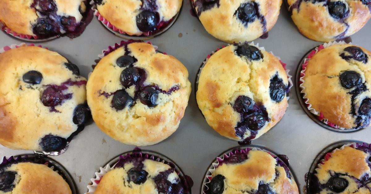 bananen blaubeer muffins mit joghurt von lioliola auf www