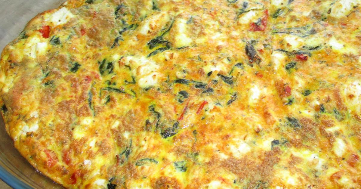 frittata mit spinat und tomaten low carb von jeti66 ein thermomix rezept aus der. Black Bedroom Furniture Sets. Home Design Ideas