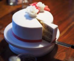 Motiv-Torte mit Raffaello Geschmack