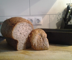 Variation von Low Carb Brot vegan