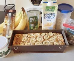 Bananenbrot, vegan (zuckerfrei)