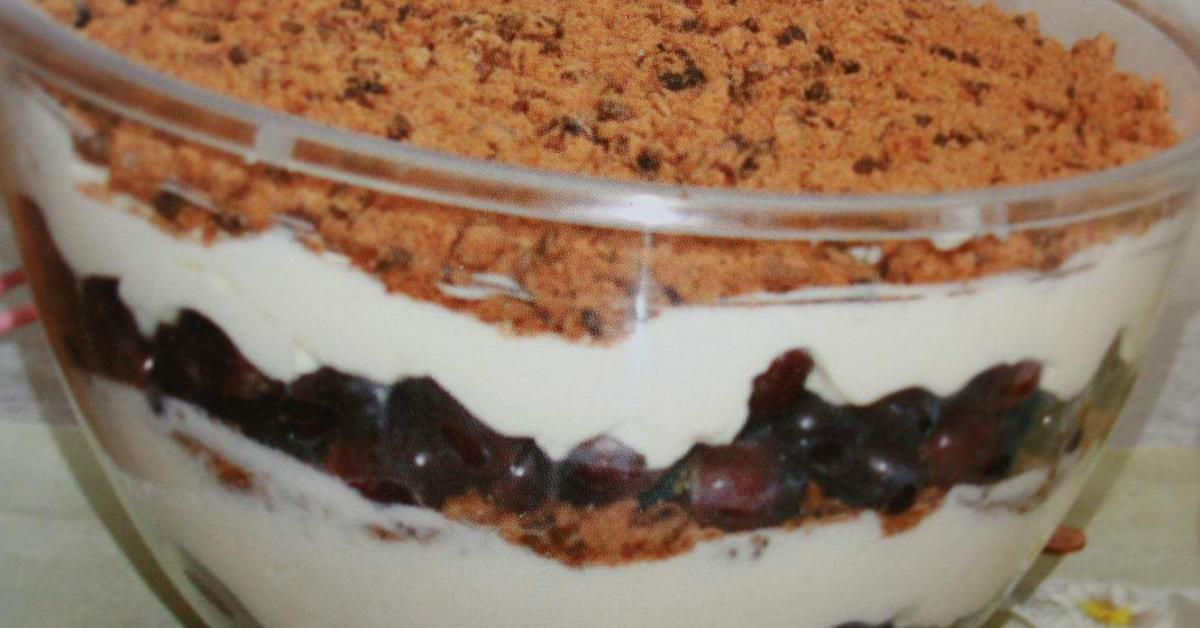 schichtdessert mit trauben von jolilana ein thermomix rezept aus der kategorie desserts auf. Black Bedroom Furniture Sets. Home Design Ideas