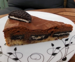 Brownie Kuchen Mit Oreo Und Cookie Boden Von Michi791 Ein