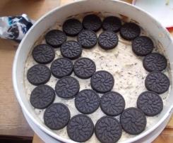 Brownie - Kuchen mit Oreo und Cookie Boden