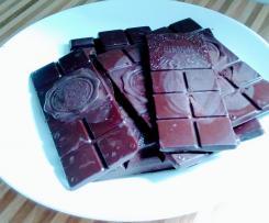 Schokolade Kuvertüre vegan, schnell und leicht gemacht