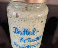 Dattel-Kräuter-Aufstrich