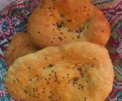 Naan Brot - pakistanisch indisch