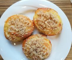 Apfelschnecken mit Zimtstreusel