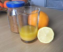 Fruchtige Orangen Salatsauce