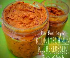 Brotpaste - Kidneybohnen und Kichererbsen