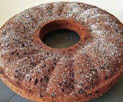 Saftig, fluffiger Rotweinkuchen