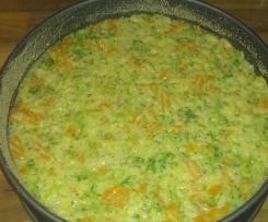 Gemüse-Kuchen / Quiche