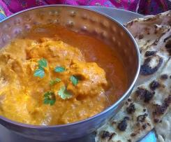 indian butter chicken, murgh makhani, indisches Butterhuhn