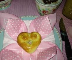 Hefe-Herzen