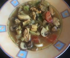 Bouillabaisse (Fischsuppe)
