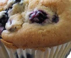 Super saftige Heidelbeer Muffins