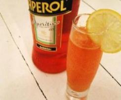 Ingwer-Zitronen-Limonade mit Aperol