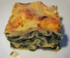 Spinat-Lasagne Low Carb