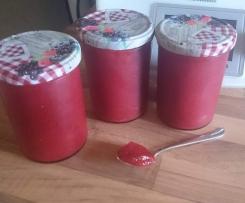 Samtweiche Erdeere-Vanille Marmelade