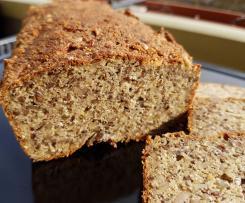 Gesundes Körnerbrot fast ohne Mehl
