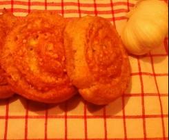 Pikante Knoblauch-Chilie-Schnecken