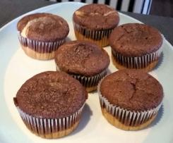 Marmor Muffins / Kuchen, fruktosearm, laktosefrei, fructose
