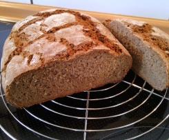 Vollkorn-Brot mit Buchweizen