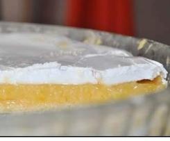 Französischer Zironen-Meringue Kuchen