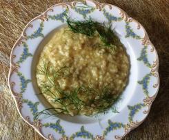 Fenchel- Zitronen- Risotto (vegan)