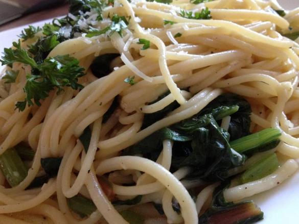 mangold spaghetti von kmaeh ein thermomix rezept aus der kategorie hauptgerichte mit gem se. Black Bedroom Furniture Sets. Home Design Ideas