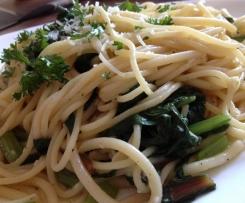 Mangold Spaghetti