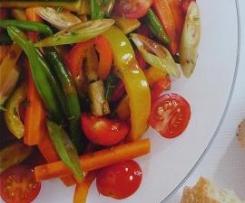 Mariniertes Gemüse (aus internationale Rezeptwelten)