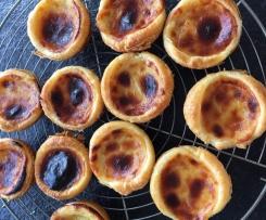 Pastéis de nata / Pastéis de Belem (portugiesisch)