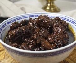 Babi Ketjab (Schweinefleisch süß-sauer indonesisch)