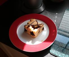 Versunkener Streuselkuchen