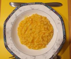 Variation Karotten-Risotto