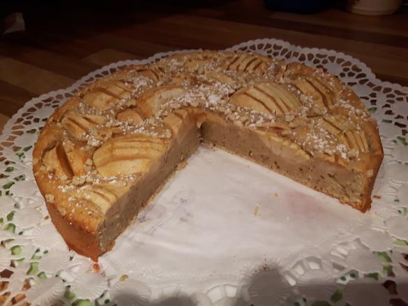Apfel Quark Kuchen Gesund Schnell Von Schwobamaedle Ein