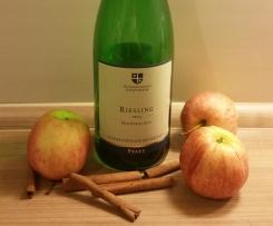 Apfel-Riesling-Marmelade (perfekt für Herbst und Winter)