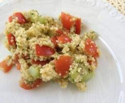 Couscous Salat frisch,leicht,lecker