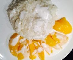 Mango Sticky Rice aus Thailand